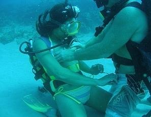 Deep ocean sex